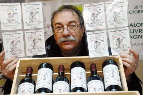 Etiquetas de vino: el humor de Gerard Descrambe